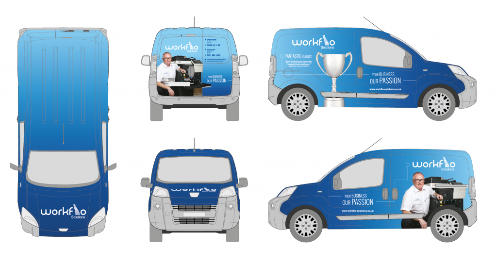 WorkFlo Vehicle Outlines